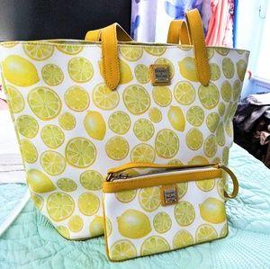 Dooney and Bourke Lemon Bag